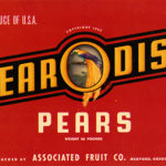 Packing label from Pearodise Pears