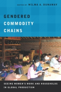 Book cover of gendered commodity chains